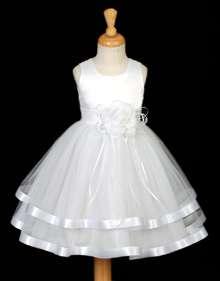 LILAC PURPLE BRIDAL FLOWER GIRL DRESS 12 18M 2 3 4 6 8
