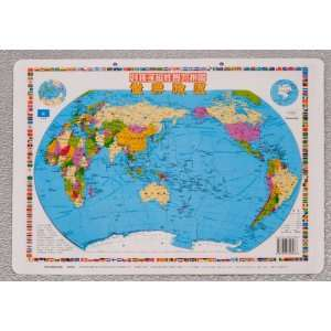 World Map Magnetic Puzzle Toys & Games