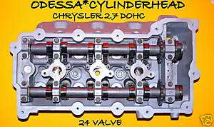 CHRYSLER INTREPID CONCORDE 300 STRATUS LHS 2.7 DOHC CYLINDER HEAD 24V
