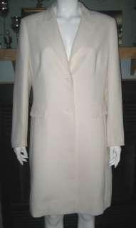 TAHARI Arthur Levine ivory beaded dress jacket   12