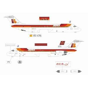 Jet X Iberia DC 9 Model Airplane