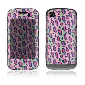Pink Leopard Design Protective Skin Decal Sticker for LG Shine Touch