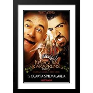 Keloglan vs. the Black Prince 32x45 Framed and Double Matted Movie