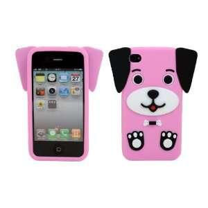 LCE(TM)Cute Dog Puppy Love Silicone Soft Rubber Case Cover