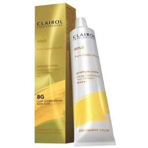 Clairol Premium Creme Permanent Color Light Golden Blonde