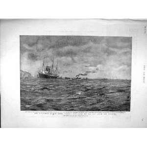 AMERICA LINER SHIP PARIS LOWLAND KENSINGTON PALACE