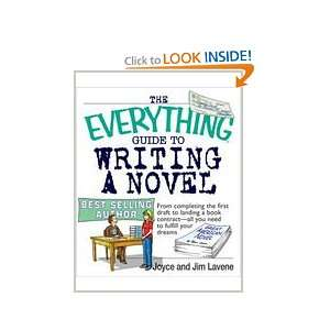 The Everything® Guide to Writing a Novel: Joyce and Jim Lavene: Books