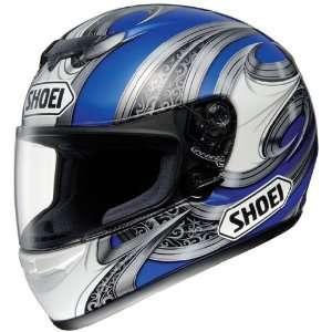 Shoei TZ R Lance TC 2 Full Face Motorcycle Helmet Blue XXL