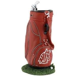 Washington State Cougars Golf Bag Pen Holder Sports