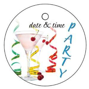 Wedding Favors Festive Party Design Circle Shaped Personalized Thank