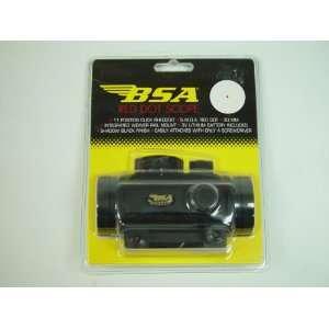 BSA Optics 30mm Red Dot Scope Clampack 5 M.O.A. #RD30SBCP