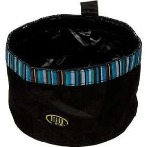 Bison Pet Turquoise Travel Bowl