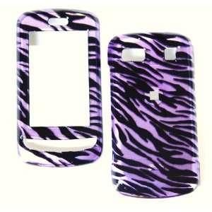New Purple Black Zebra Stripe Pattern Color Design Lg