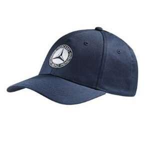 Mercedes Benz Classic Logo Navy Baseball Cap Automotive