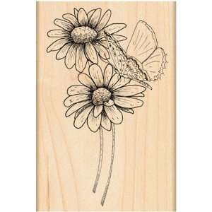 Penny Black Rubber Stamp 3X4.5 Butterfly Kiss Office