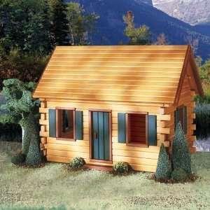 Quickbuild Crocketts Cabin Dollhouse Kit: Toys & Games