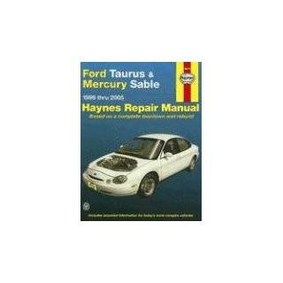 ford taurus mercury sable 1996 2005 hayne s automotive repair manual