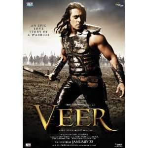 Veer Movie Poster (11 x 17 Inches   28cm x 44cm) (2010