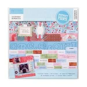 Everyday Memories Page Kit 12X12 Arts, Crafts & Sewing