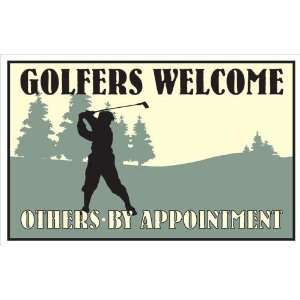 Metal Sign   Life is a game? GOLF IS SERIOUS