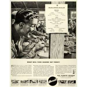 1943 Ad Barre Chemical Engineering WWII War Producion