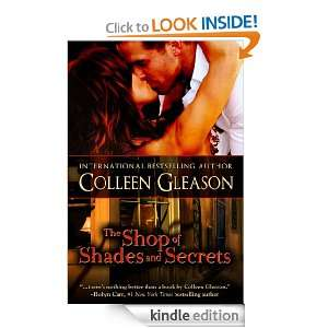 The Shop of Shades and Secrets (Modern Gothic Romance 1): Colleen
