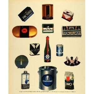 1931 Prin Joseph Sinel Package Designer Omo Gondola