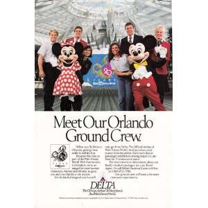Print Ad 1992 Delta Airlines Delta Airlines Books
