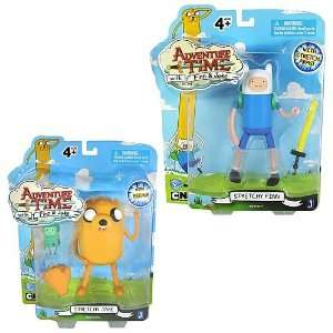 Adventure Time 5 Inch Jake and Finn Action Figure Case