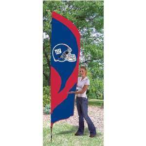 New York Giants NFL Tall Team Flag W/Pole Sports