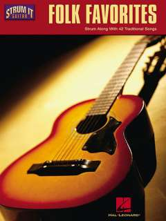 Folk Favorites   Easy Strum It Guitar Chords Songs Book