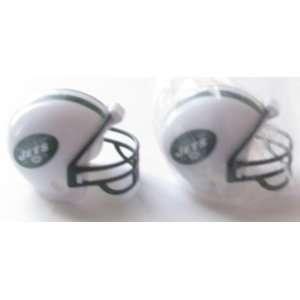 NFL Football Mini Helmets New York Jets Pencil Toppers Vending Toys