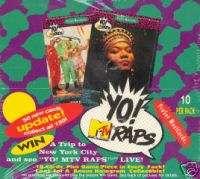 YO MTV RAPS SERIES 2 PRO SET 1992 TRADING CARD BOX