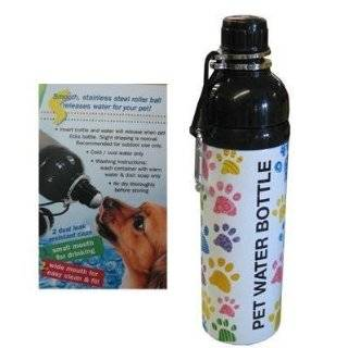 PET WATER BOTTLE  STAINLESS STEEL   PUPPY PIRATE