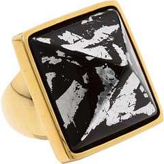 Kenneth Jay Lane Gilt Pyramid Ring    BOTH