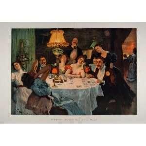 1899 Print Victorian Fortune Telling Teller Cards RARE