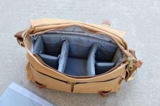 SLR Canvas Camera Laptop Messenger Shoulder Bag Canon Nikon Sony 1