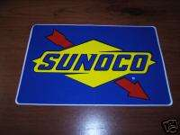 HUGE SUNOCO RACE FUELS STICKER DECAL