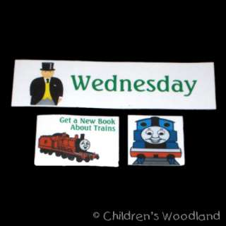 THOMAS TANK ENGINE CHORE CHART SET KIDS CHORES TRAIN