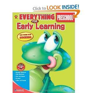 Everything for Early Learning, Preschool (9780769659596