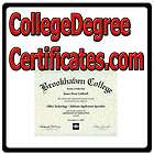 College Degree Certificates.c​om ONLINE WEB DOMAIN/UNIVERS​ITY