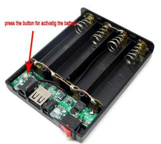 2A Output 5V Mobile Power USB Battery Charger 18650 Box |