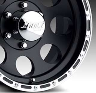 10 BLACK WITH SUPER FINISH RING STYLE 185 AMERICAN EAGLE WHEELS
