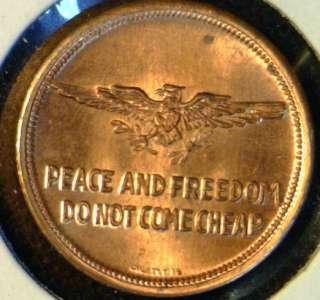 1963 John F Kennedy JFK MINI VER#2 US MINT Commemorative Bronze