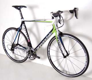 2012 CANNONDALE SUPER SIX SHIMANO GROUP CARBON ROAD BIKE 60 cm RACE