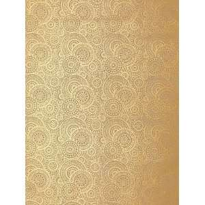 Schumacher Sch 5005243 Sadari   Gilt Wallpaper