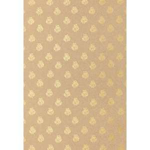 Kaladera Gilt by F Schumacher Wallpaper