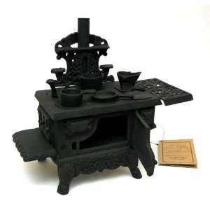 Best Quality  Old Mountain Black Mini Wood Cook Stove
