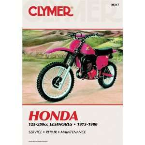 Clymer Manual Hon Elsinores 125 250cc 73 80: Automotive