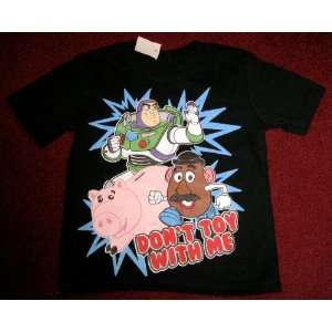 TOY STORY 3 SHIRT~BUZZ LIGHTYEAR~DONT TOY WITH ME~SIZE 2T~BRAND NEW